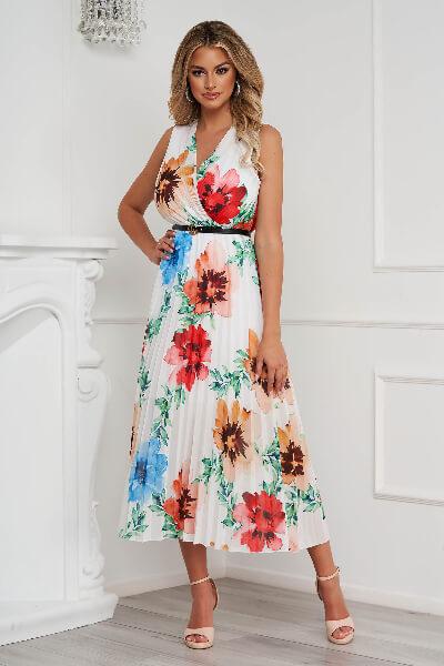 rochie plisata dama