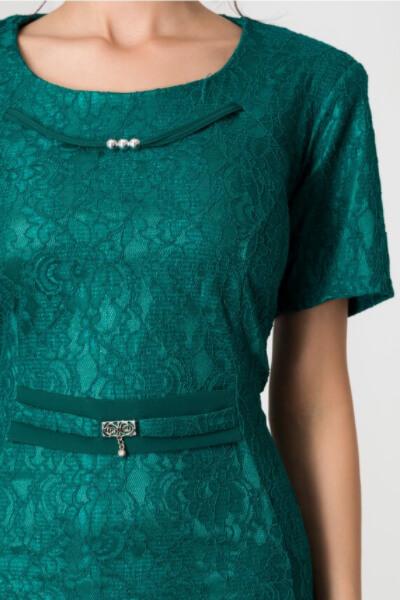 rochie verde dama