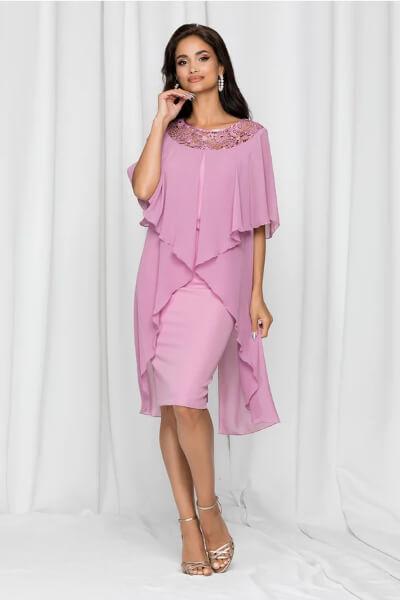 Rochie lila de ocazie