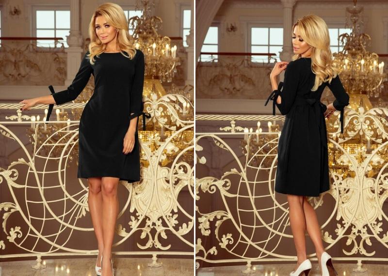 Rochie midi eleganta de ocazie neagra