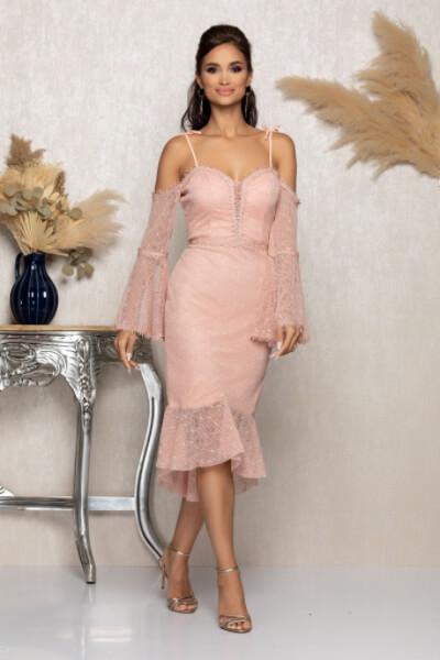 rochie Rose eleganta