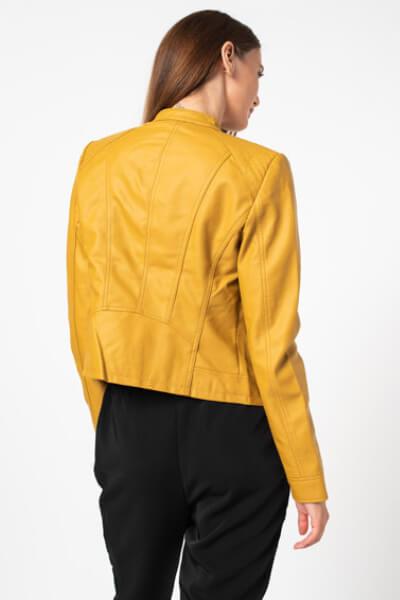 Jacheta de piele ecologica casual dama