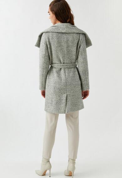 Palton din amestec de lana calitate