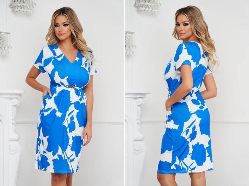 rochie din material elastic gravide
