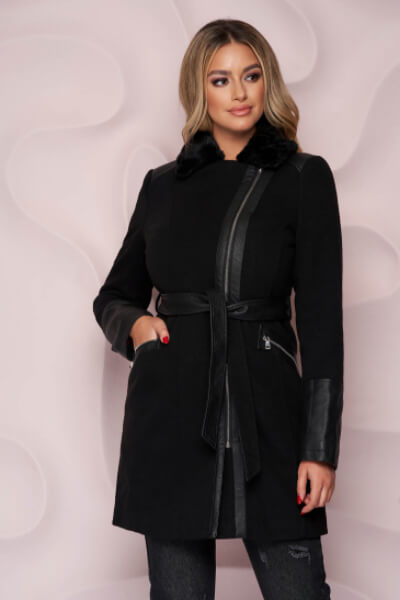 palton-negru-elegant-cambrat