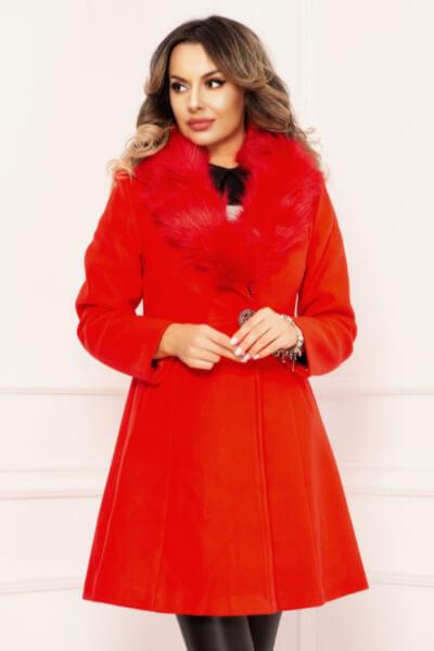 palton-dama-rosu-din-stofa-matalasat