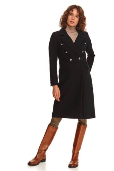 palton-negru-lung dama
