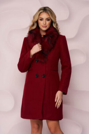 palton-visiniu-elegant-gros